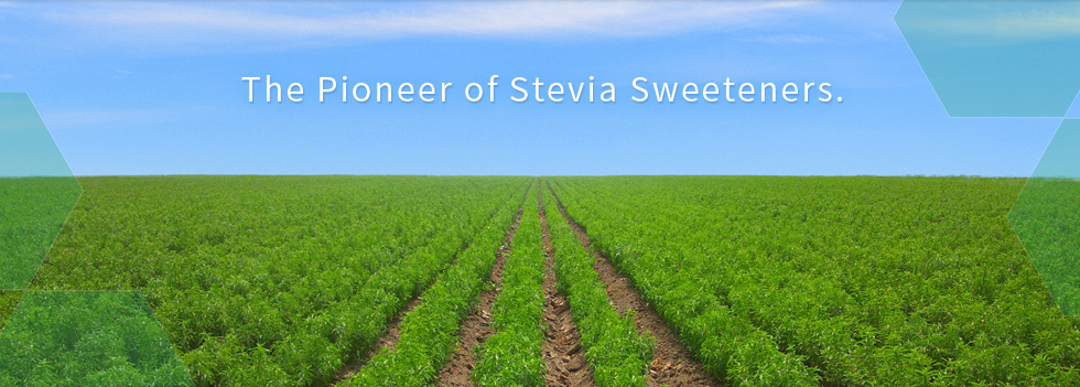 The Pioneer of Stevia Sweeteners.