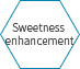 Sweetness enhancement